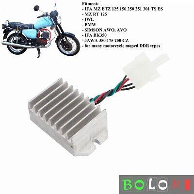 Voltage Regulator Rectifier For Simson AWO MZ TS ES 250 BMW EMW R35 Moped BK350