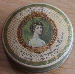 Old little box pectoral sweets auka drugstore 7 rue paris julius caesar