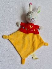Schmusetuch Schnuffeltuch Simba Dickie NICOTOY HASE Bunny gelb rot Kuscheltuch *