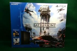 2357ac4c108 Image is loading Launch-Sony-PS4-500GB-Jet-BATTLEFRONT-EMPTY-BOX-