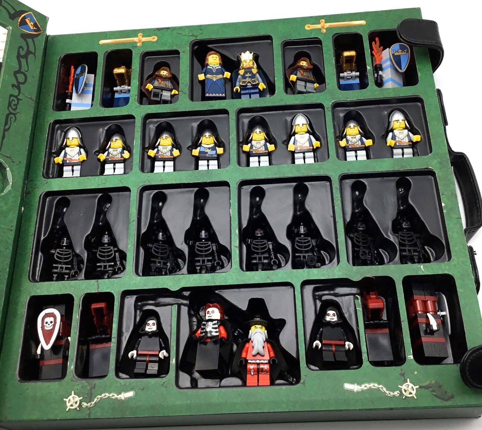 Juego de ajedrez de época de fantasía Lego 852001 Minifiguras Tablero De Juego Castillo reinos
