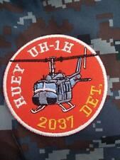 HUEY UH-1H 2037 DET. ROYAL THAI AIR FORCE PATCH อาร์มกองบิน2 RTAF PATCH