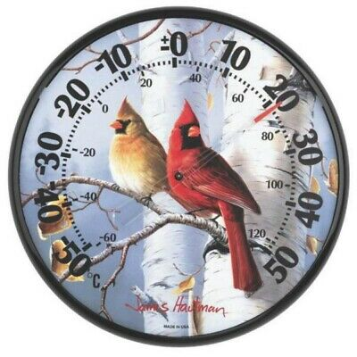 Acu-rite - Cardinals Thermometer - 12-1/2""