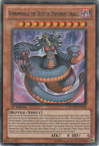 3x-Vennominaga-the-Deity-of-Poisonous-Snakes-RYMP-EN068-Rare-1st-Edition-R