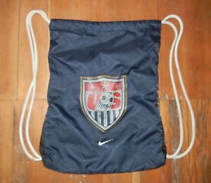 Nike US SOCCER World Cup SOCCER BACKPACK Cleats Shoes Gym Gear Bag ... 3aaf4123c1dc4