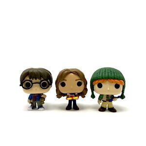 Funko 2020 Harry Potter Advent Mini Figures HP, Hermione Granger & Ron Weasley