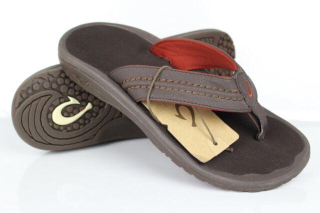 OluKai Holona Men's Size 10 Sandals DK