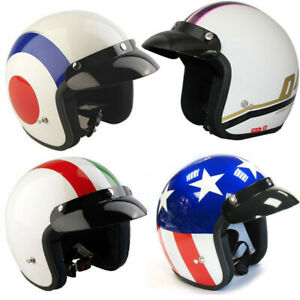 VIPER-RS-04-OPEN-FACE-SCOOTER-MOTORCYCLE-RETRO-HELMET-MOD-MODERNA-TARGET-ITALY