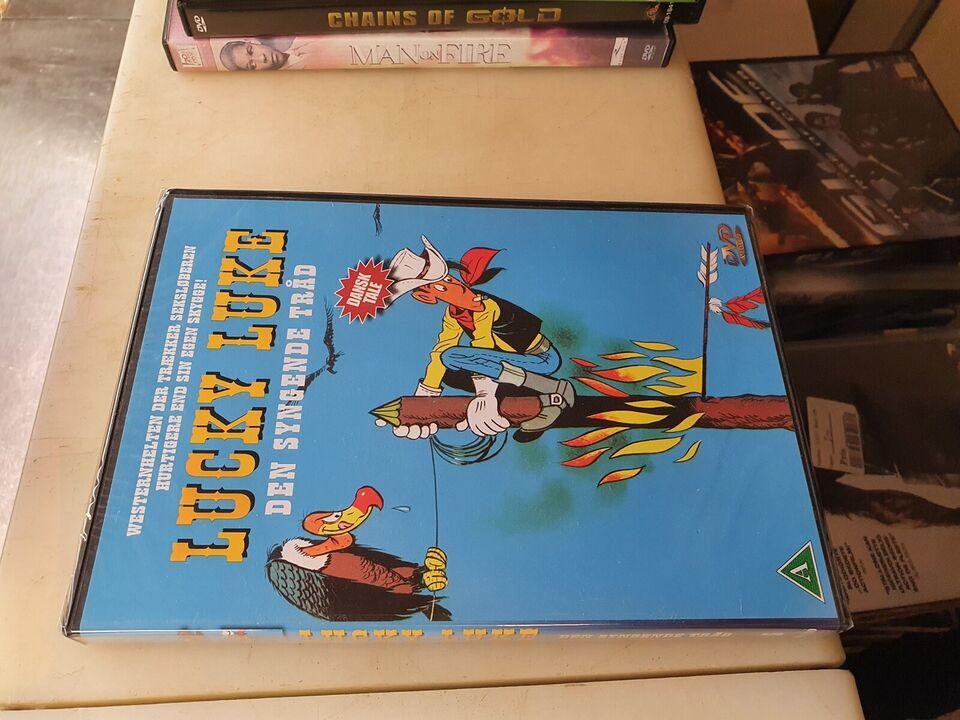 Lucky Luke 5 Den syngende tråd, DVD, tegnefilm