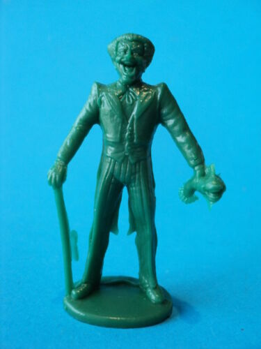 1981 Gulliver JOKER Batman/'s supervillain plastic figure JLA DC COMICS green