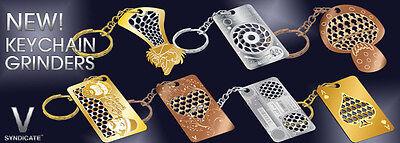 Llavero Grinder Card Tarjeta Picadora Moledora Varios Modelos Keychain