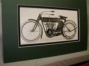1911 Harley Davidson Model 70 Usa Motorcycle Exhibit From Automotive Museum Ebay