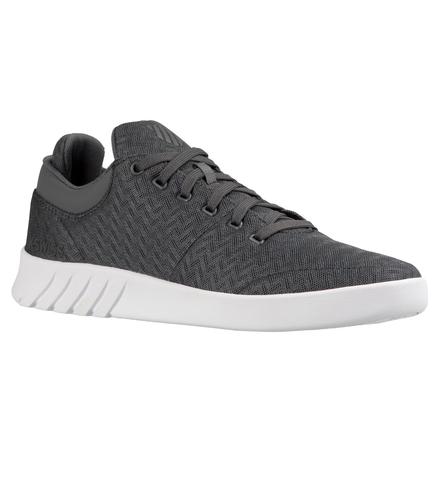 K-Swiss Aero Lightweight Mesh Trainer Casual Sporty Gym Sneaker shoes Grey White
