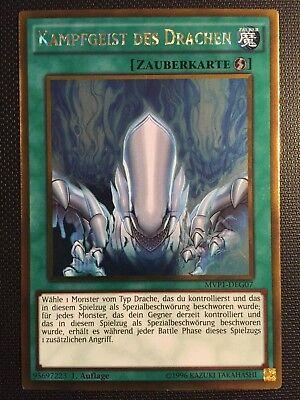 Auflage! Near Mint Kampfgeist Des Drachen MVP1-DES07 Secret Rare 1 YUGIOH!