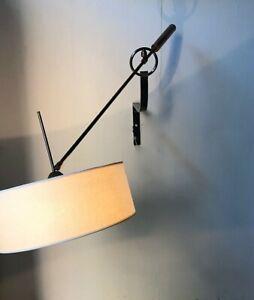 Détails sur applique sconce maison arlus 1950s lampe 50 luminaire french vintage lampe