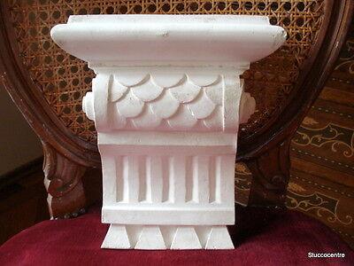 Stuck Stucco Schuppen Muster Konsole Aus Gips Kamin Modern Verschiedene Details Elegantes Und Robustes Paket