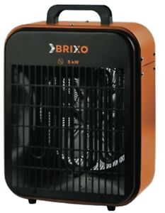 Elettroriscaldatore generatore aria calda Brixo Fan termoventilatore