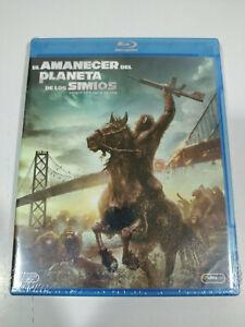 El Amanecer del Planeta de los Simios - Blu-Ray Español Ingles Nuevo