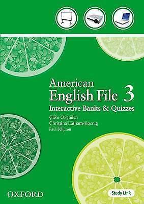 American English File: Level 3: Teacher Presentation Tool by Oxford...