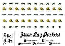NFL - Green Bay Packers Waterslide Nail Decals - 50pc