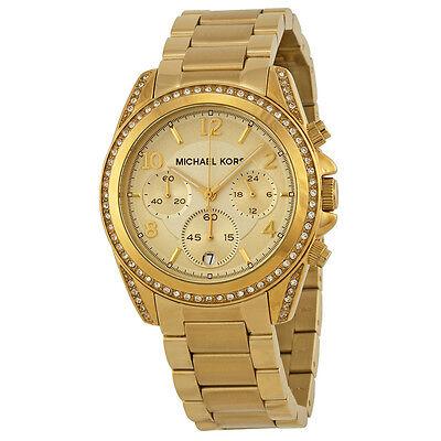 Michael Kors Golden Runway Glitz Watch MK5166