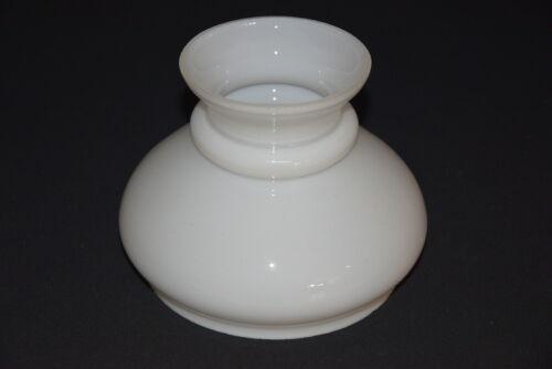 Lampenschirm Kuppel für Petroleumlampen Glas Ersatz weiß 12,5 cm K1019-15