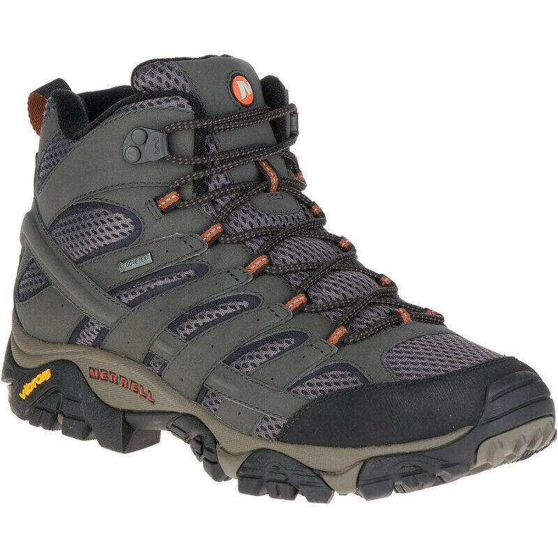 Mens Merrell Moab 2 Mid Gore-tex Mens Walking Boots - Green