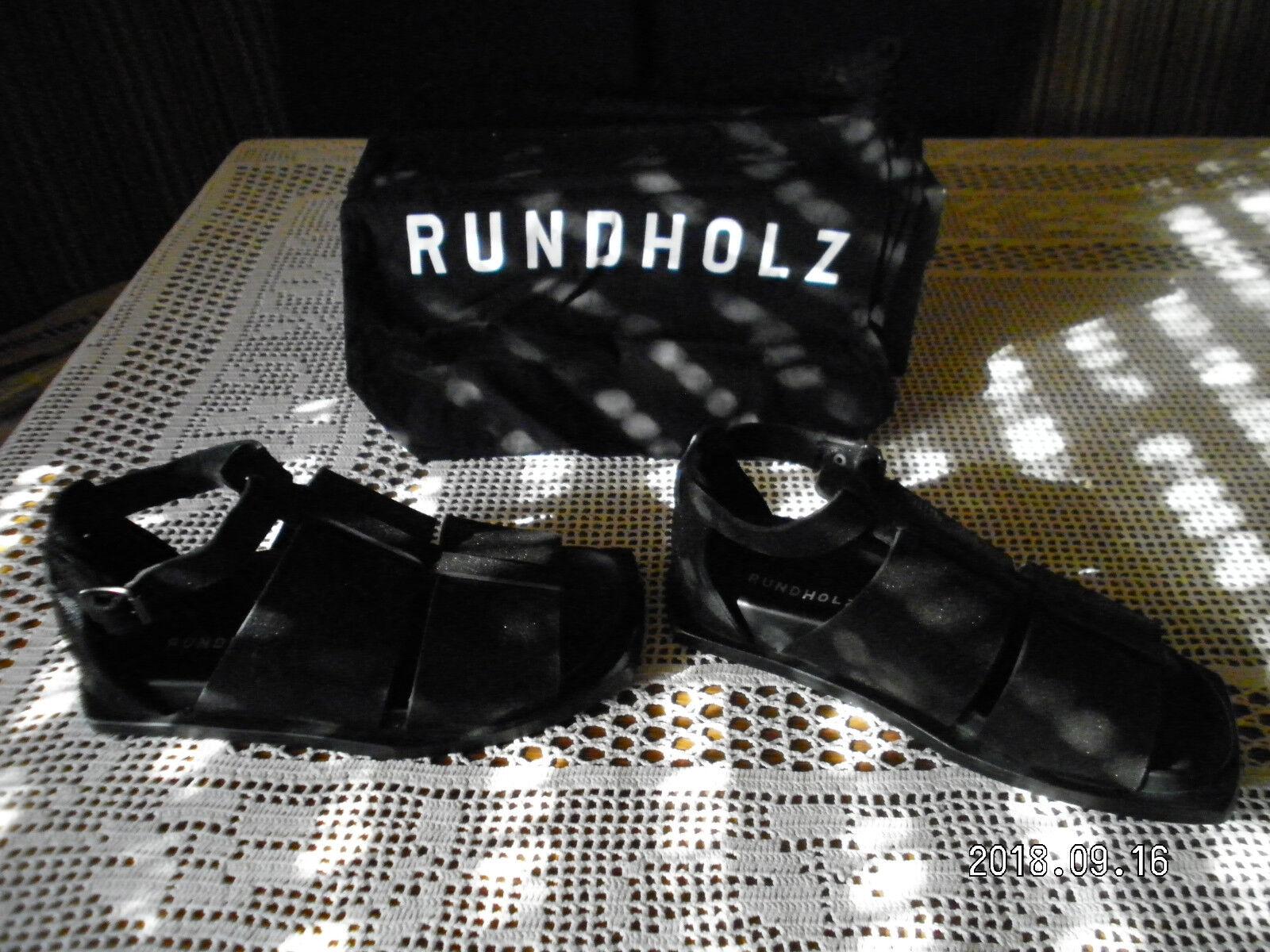RUNDHOLZ, Scarpe/Sandali, Tg. 36 min. (37), Lagenlook, ca. 5 min. 36 indossato a2af6b