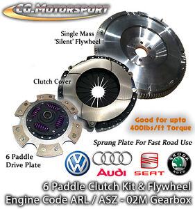 6-Spd-VW-Tiguan-2-0-TDi-CBAB-CFFB-140-Single-Mass-Flywheel-amp-6-Paddle-Clutch-SMF