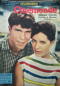 Cinema-Gaubert-Terzieff-Blain-Greco-Bardot-Thamar-Simca-N-1298-Kodak-1959