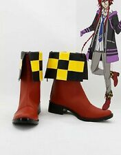 Kamigami no Asobi Thor Brother Loki Laevatein Cosplay Boots Boot Shoes Shoe
