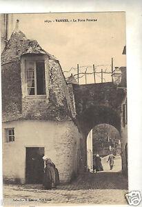 56-cpa-VANNES-La-porte-Poterne