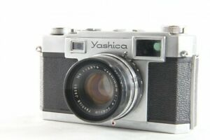 RARE-Yashica-35-Rangefinder-Film-Camera-45mm-4-5cm-f1-9-from-Japan-1309