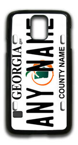 Georgia-State-License-Plate-Personalized-Name-Or-Text-Samsung-Phone-Case-301101