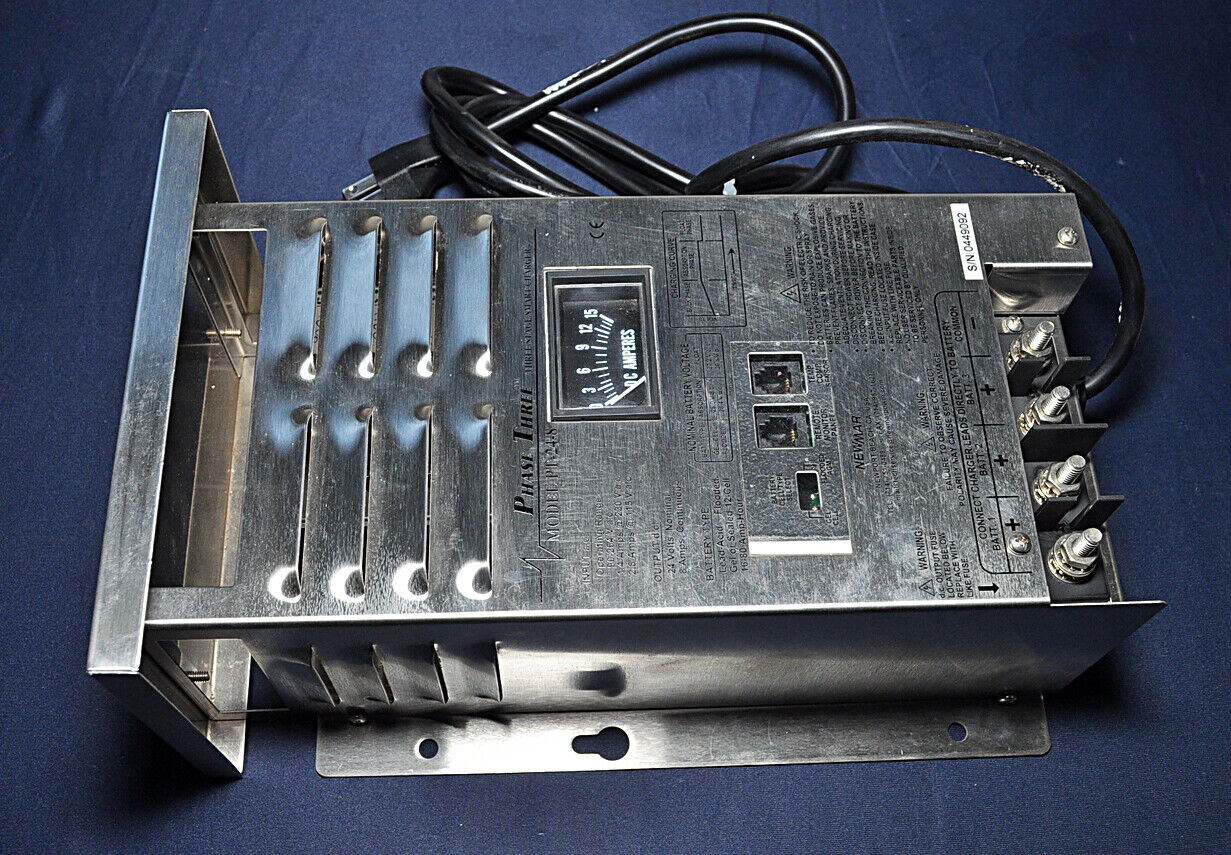 newmar pt 24 8 phase 3 stage smart 24 volt dc charger system read Circuit Panel