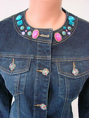 DG2 Diane Gilman SoftCell Denim Jacket Basic INDIGO 3X NEW 698-855