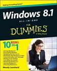 Windows 8.1 All-in-one For Dummies by Woody Leonhard (Paperback, 2013)