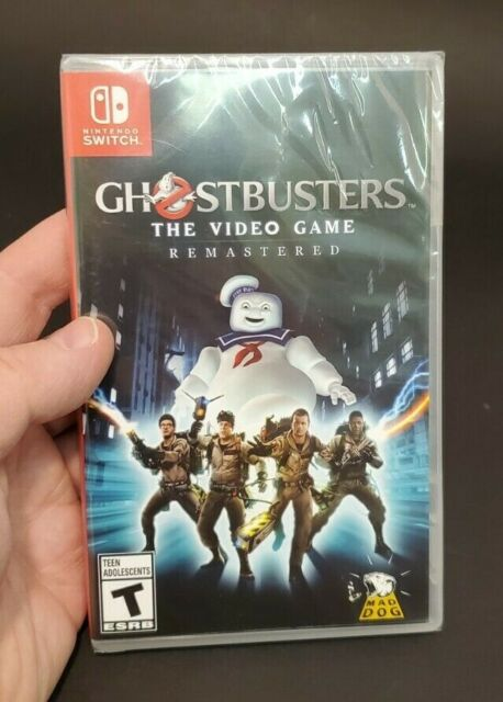 Ghostbusters: The Video Game Remastered (Nintendo Switch, 2020) Factory Sealed