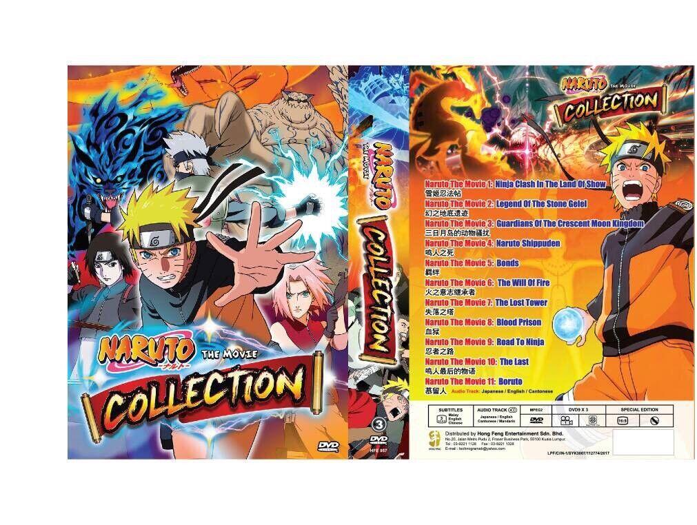 Naruto shippuden the movie bonds full movie english dub