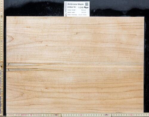 Tonewood Ambrosia Maple Bookmatched 9,0 mm Tonholz Topset Guitar Ahorn Droptop