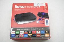 NEW Roku Premiere+ Plus 4K HDR Streaming Media Player 4630RW - Sealed