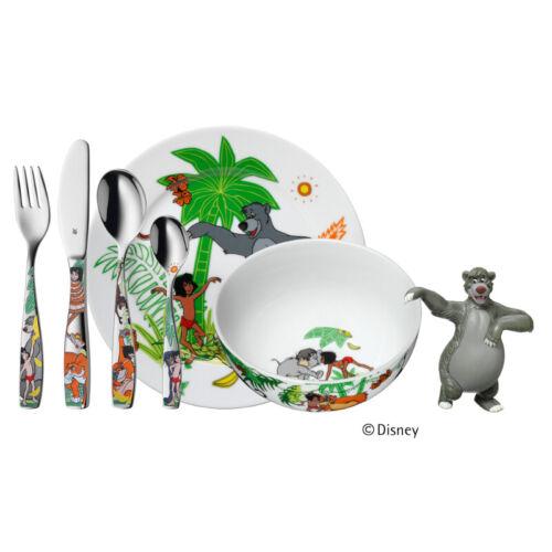 Wmf enfants couverts 6 pièces Livre de la jungle avec Balu Kinderset en acier inoxydable 1283309009