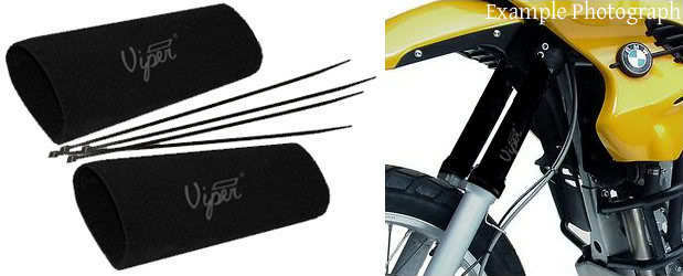 Viper neoprene long fork seal Savers for Cagiva 650 Elefant 1985