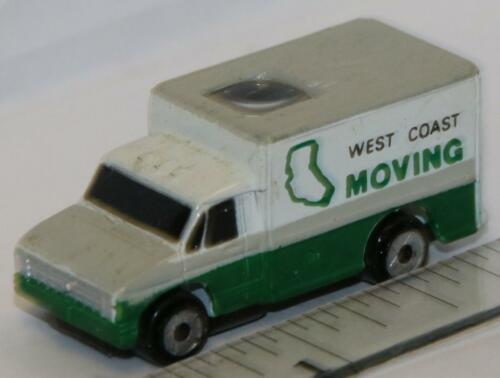 Micro Machines PRIVATE EYES FORD HIGH CUBE VAN WEST COAST MOVING