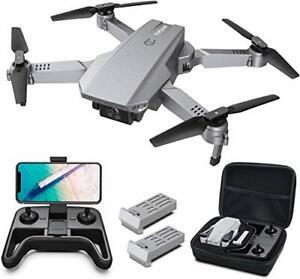 Tomzon D25 4K Drone con Cámara para adultos, FPV Plegable, Control Remoto Con