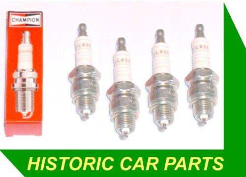 4 SPARK PLUGS for Citroen Dyane 4  1967-70 ~ replace CHAMPION L82C
