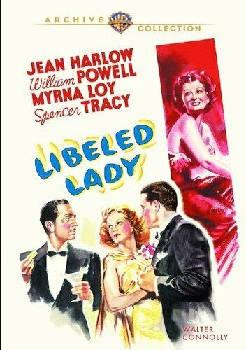 Libeled Lady (1936 Jean Harlow) DVD NEW