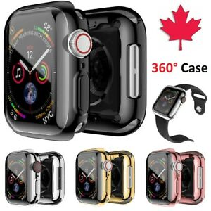 Apple Watch Case 360 Electroplate + Screen Protector For Series 1 2 3 4 5 6 SE