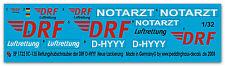 Peddinghaus  1/32 1722 EC -135 Rettungshubschrauber der DRF D-HYYY Neue DRF Lack