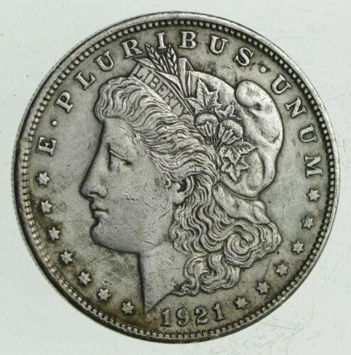 1 1921 P or D or S Morgan Silver Dollar 90/% Eagle Rev Bullion Bulk Lot